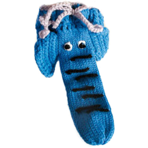 Mens Knitted Animal Willy Warmer Pouch